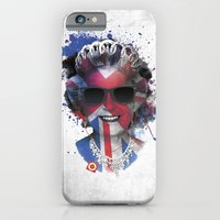 iPhone Cases featuring Queen Listen Music by Sitchko Igor