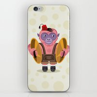 The Monkey Boy iPhone & iPod Skin