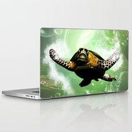 Cute Seaturtle Laptop & iPad Skin