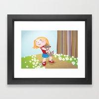 I choose you Framed Art Print