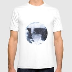 Lost at Sea SMALL Mens Fitted Tee White