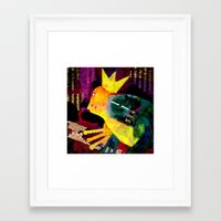 Do you want to marry me ? Framed Art Print