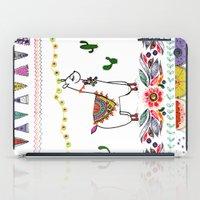 Llama Illustration iPad Case