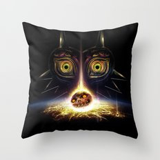 Majora's Mask Operation Moonfall Throw Pillow