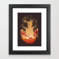 Summertime Madness Framed Art Print