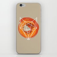 Geometric Fox iPhone & iPod Skin