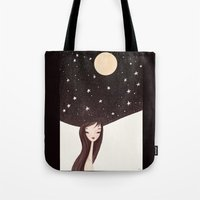 Night Hat Tote Bag