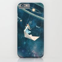 lady iPhone & iPod Cases featuring My Favourite Swing Ride by Paula Belle Flores