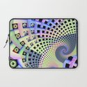 Spinning Abstract Laptop Sleeve
