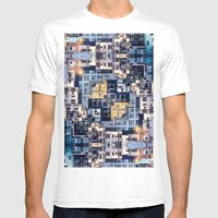 Community Of Cubicles Mens Fitted Tee White SMALL