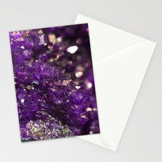Geode Abstract Amethyst Stationery Cards