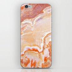 Peach Onyx Marble iPhone & iPod Skin