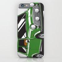 iPhone & iPod Case featuring Mini Cooper Car - British Racing Green by C Barrett