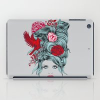 Winter Girl iPad Case