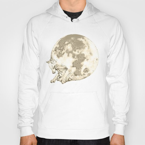 In which a wolfy moon thing happens Hoody