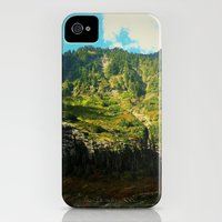 iPhone 4s & iPhone 4 Cases featuring Spring Glacier  by OrdinaryAdventures