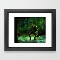 THE SWAMP Framed Art Print
