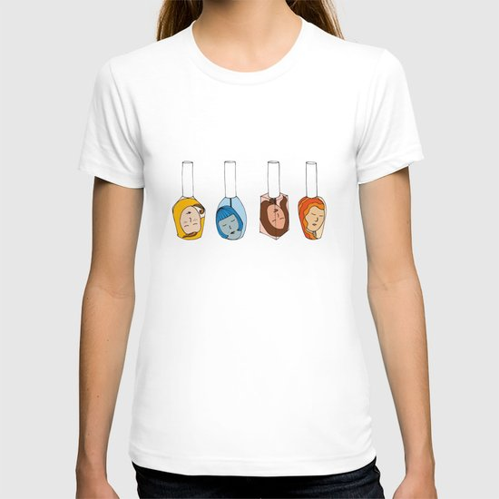 Some Girls Living In A Nailpolish T-shirt