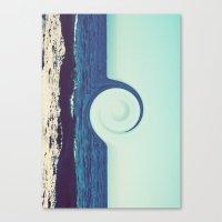 Ocean And Sky Canvas Print