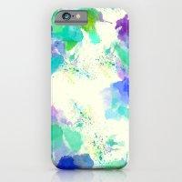 Printed Silk Ocean Spray iPhone 6 Slim Case