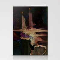 Darkness In The Old City Stationery Cards