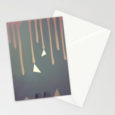 Owl Abstraction Stationery Cards