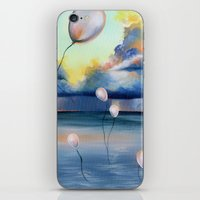 Balloons Over Water iPhone & iPod Skin