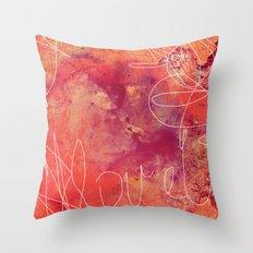 Cosmic Love Throw Pillow