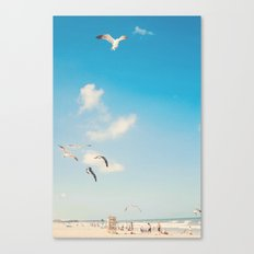 The Beach... Canvas Print