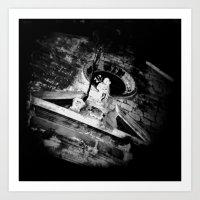Midnight In Dubrovnik 02 Art Print