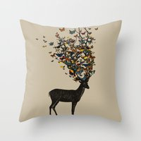 Wild Nature Throw Pillow