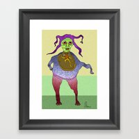 Baby Woman Framed Art Print
