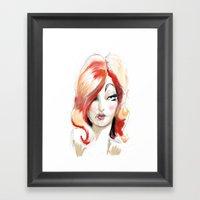 Lolita: Sketch Framed Art Print