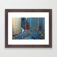 The Windy City Framed Art Print