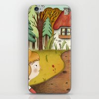 House in the forest iPhone & iPod Skin