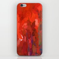 The Walk Of All Nations For Peace by Sherri Of Palm Springs iPhone & iPod Skin