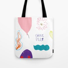 come and play Tote Bag