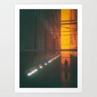 BURTRAN CORRIDOR (everyd… Art Print