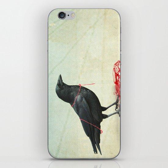 freedom  _ black crow iPhone & iPod Skin