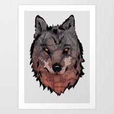 Wolf Mother Art Print