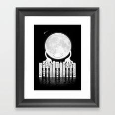 City Tunes Framed Art Print