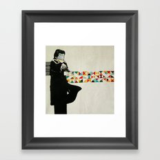 mailman Framed Art Print