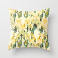 Des-integrated Tartan Pa… Throw Pillow