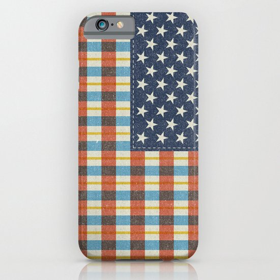 Plaid Flag. iPhone & iPod Case