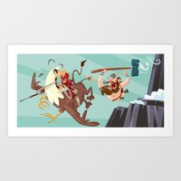 Braun Bloodstone And The… Art Print
