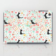 Lucky Cat Garden iPad Case
