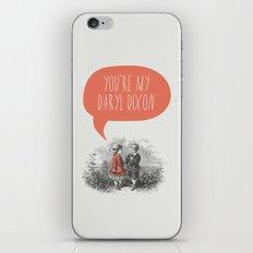 Walking Dead Love Story iPhone & iPod Skin