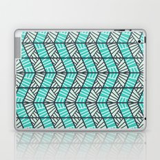 Blue Retro  Laptop & iPad Skin