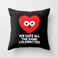 Trollmates Throw Pillow