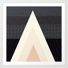 Conical Tent  Art Print